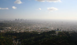 View of Downtown Los Angeles Royalty Free Stock Photography