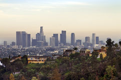 View on Downtown Los Angeles Stock Photo