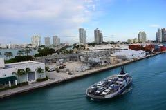 View of Downtown Miami Stock Photos