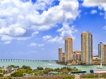 View of downtown Miami Royalty Free Stock Images