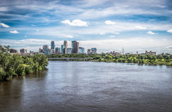 View of downtown Minneapolis Royalty Free Stock Photo