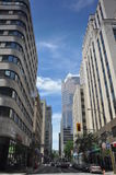 View of Downtown Montreal Royalty Free Stock Photos