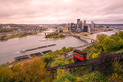 View of downtown Pittsburgh Stock Photo