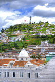 View of downtown Quito Royalty Free Stock Photos