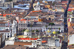 View of downtown Quito Royalty Free Stock Photography