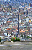 View of downtown Quito Royalty Free Stock Images