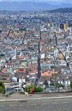 View of downtown Quito Stock Photos
