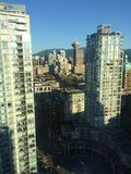 View of downtown Vancouver city! Stock Photography