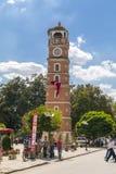 View from downtown Yenisehir, Bursa, Turkey Stock Images