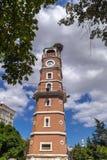 View from downtown Yenisehir, Bursa, Turkey Royalty Free Stock Photography
