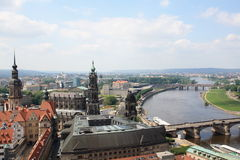 View of Dresden Royalty Free Stock Image