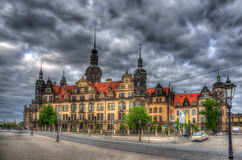 View of Dresden castle - Germany Royalty Free Stock Photography