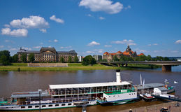 View in  Dresden Germany Royalty Free Stock Photography
