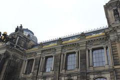 View from Dresden, Germany Royalty Free Stock Photography