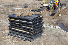 View of the drill core samples Royalty Free Stock Photo
