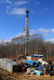 View Of Drilling Derrick Stock Photos