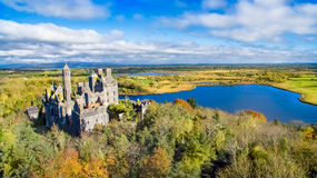 View of Dromore Castle, Limerick, Ireland. Stock Photo