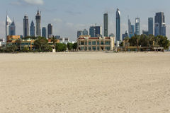 View of Dubai City Royalty Free Stock Photography