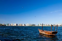 View of Dubai Creek Royalty Free Stock Photography