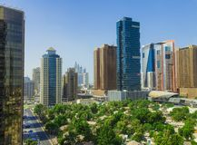 View of Dubai Internet City area in United Arab Emirates