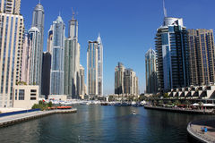 View of Dubai Marina Royalty Free Stock Photo