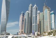 View of Dubai Marina, UAE Royalty Free Stock Photo