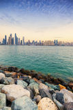 View of Dubai Royalty Free Stock Photography