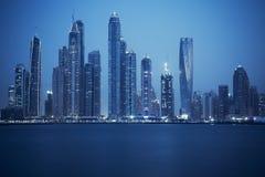 View of Dubai, special photographic processing stock photos