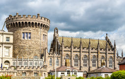 View of Dublin Castle froom Dubh Linn Stock Photos