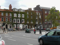 View of Dublin city centre Royalty Free Stock Image