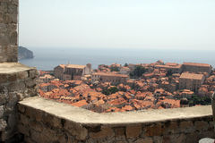 View of Dubrovnick Royalty Free Stock Photos