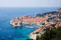 View on Dubrovnik, Croatia Stock Photos