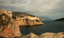 View on Dubrovnik , Croatia Royalty Free Stock Images