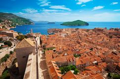 View of Dubrovnik, Croatia Stock Photo