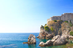 View from Dubrovnik, Croatia Royalty Free Stock Image