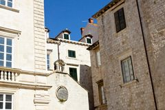 View on Dubrovnik old town. Royalty Free Stock Photos