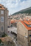 View of Dubrovnik Old town square stock photography