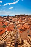 View on Dubrovnik roofs Stock Images