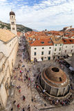 View of Dubrovnik's Old Town Royalty Free Stock Photography