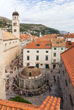 View of Dubrovnik's Old Town Stock Photography