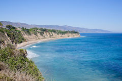 View from Duma Point, Malibu California. USA Stock Image