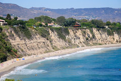 View from Duma Point, Malibu California. USA Royalty Free Stock Photography
