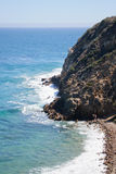 View from Duma Point, Malibu California. USA Royalty Free Stock Photo