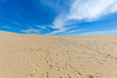 View from Dune of Pyla, Arcachon Bay Stock Image
