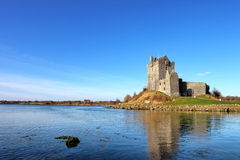 View of the Dunguaire Castle in Kinvara, Ireland. View of the Dunguaire Castle, Kinvara Bay, Galway, Ireland Stock Images