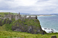 View of dunluce casle Royalty Free Stock Photography
