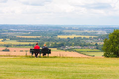 View of Dunstable downs England Stock Image