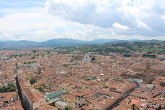 View from the duomo of florence. View from the duomo in Florence Royalty Free Stock Image
