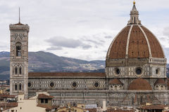 View of Duomo and Florence Stock Photo