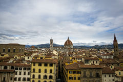View of Duomo and Florence Royalty Free Stock Image